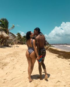 Rich The Kid and Tori Brixx Enjoy Their Tulum Vacation