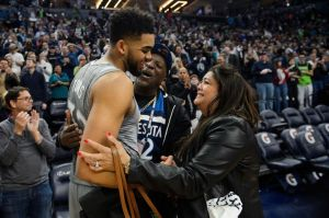 Karl-Anthony Towns Mother