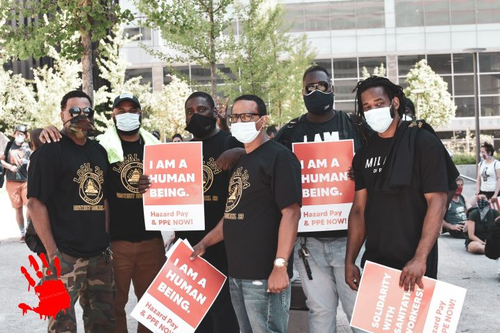 Philly Sanitation Workers Rally Photos June 9th 2020