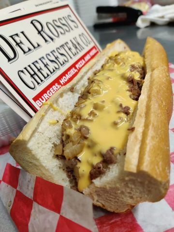 Official List Of The Best Cheesesteaks In Philly - Del Rossi's Cheesesteak Co.