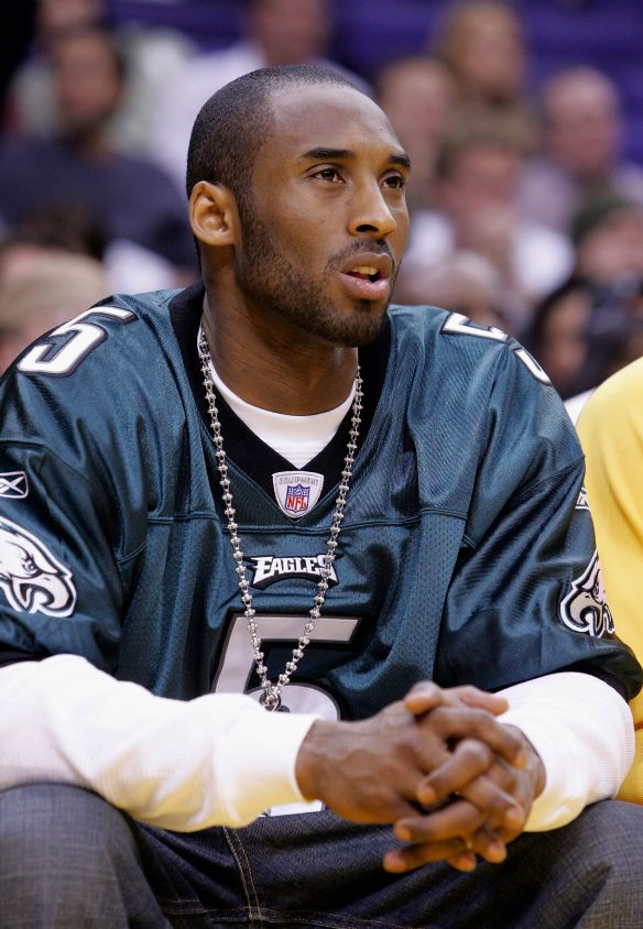 Philadelphia Eagles Honor Kobe Bryant With A Mural Inside Practice Facility