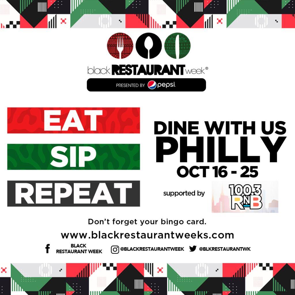 Eat Sip Repeat Black Restaurant Week Philly